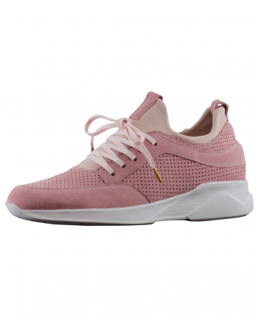Mallet Pink Contrast Archway Trainer