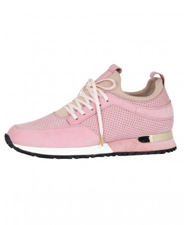 Pink Contrast Archway Trainer