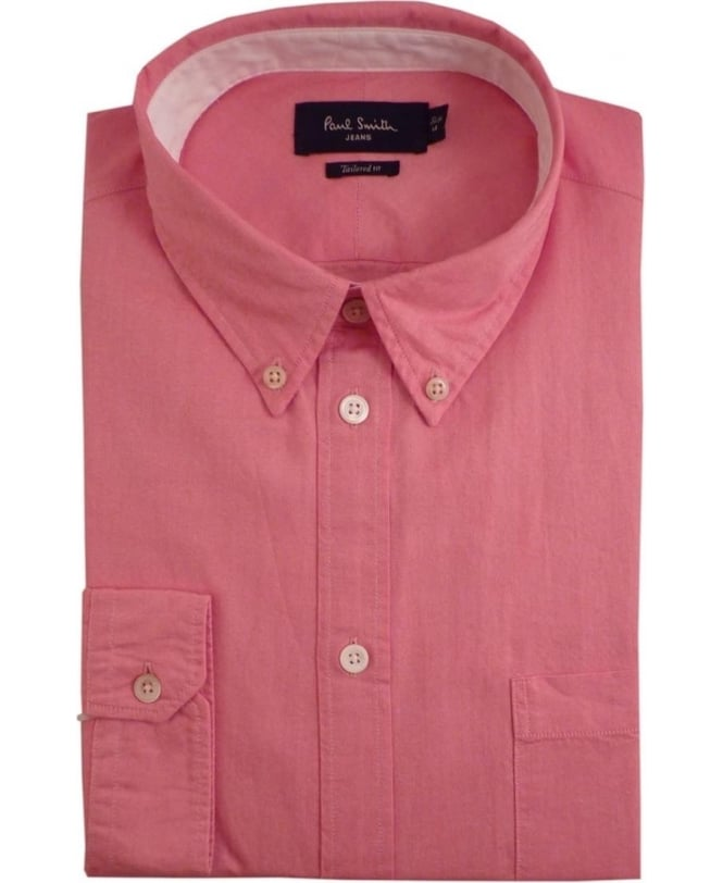Paul Smith Pink JPFJ-633P-D29 Tailored Fit Shirt