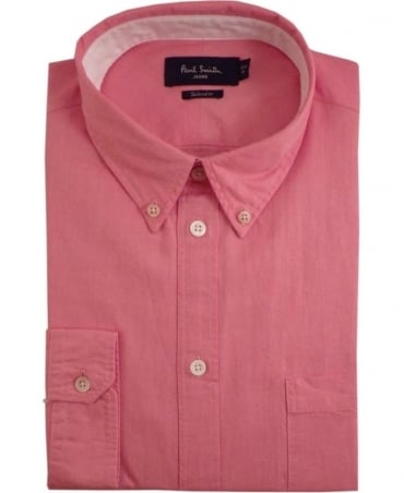 Paul Smith - Jeans Pink JPFJ-633P-D29 Tailored Fit Shirt