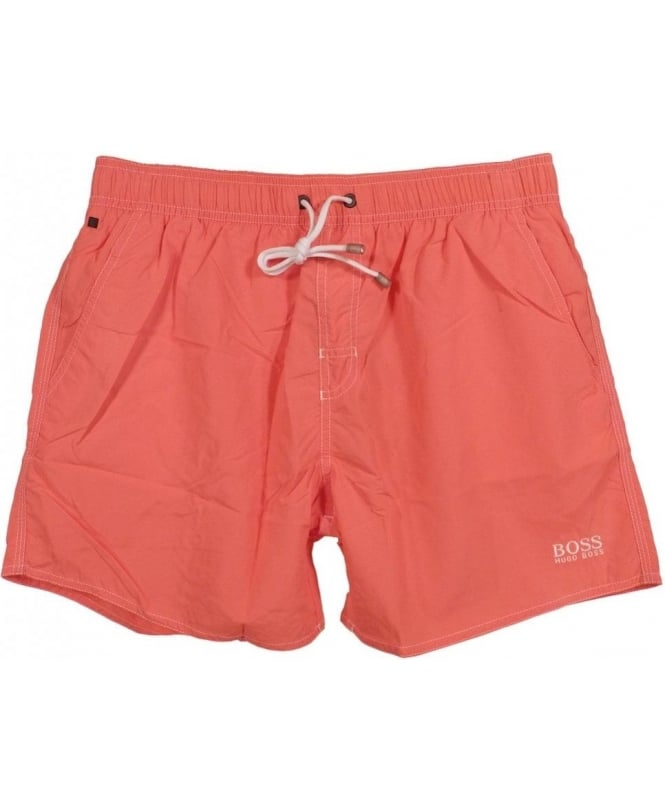Hugo Boss Pink Lobster 50269486 Quick Dry Swim Shorts