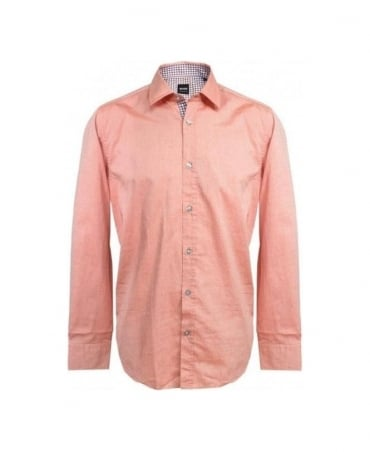 Hugo Boss Pink Lucas_11 50253420 Regular Fit Shirt