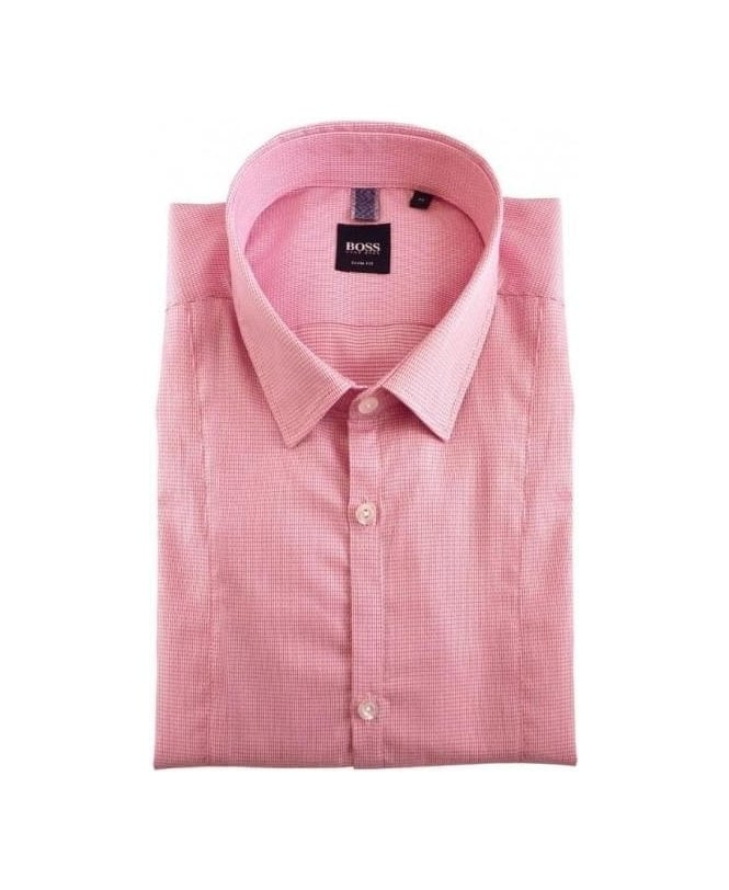 Hugo Boss Pink Pancho Slim Fit Shirt