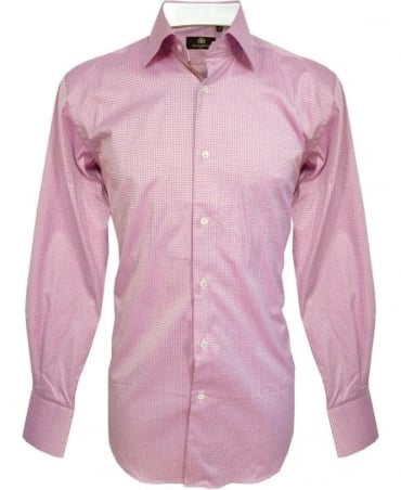 Circle of Gentlemen Pink Pattern 4369 Reeves Shirt