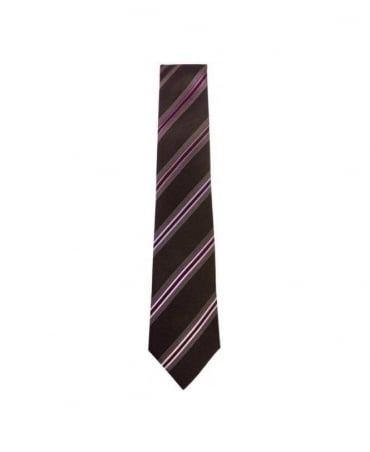 Paul Smith - Accessories Pink Stripe 8cm Tie
