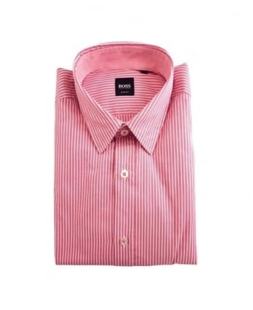 Hugo Boss Pink Stripe Ronny 21 Shirt