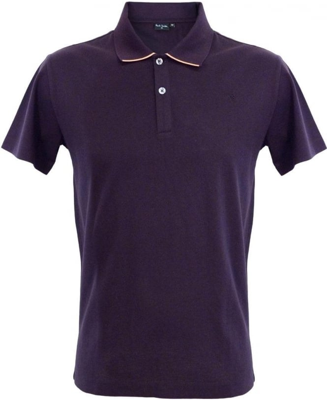 Paul Smith Plum Polo PKXD/761M/951