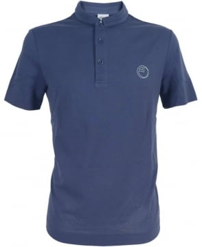 Armani Polo Shirt In Blue