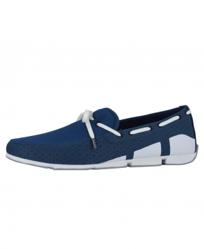 Swims Poseidon/White/Grey Breeze Penny Loafer