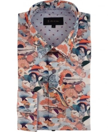 Post Cards Print 2930S Shirt