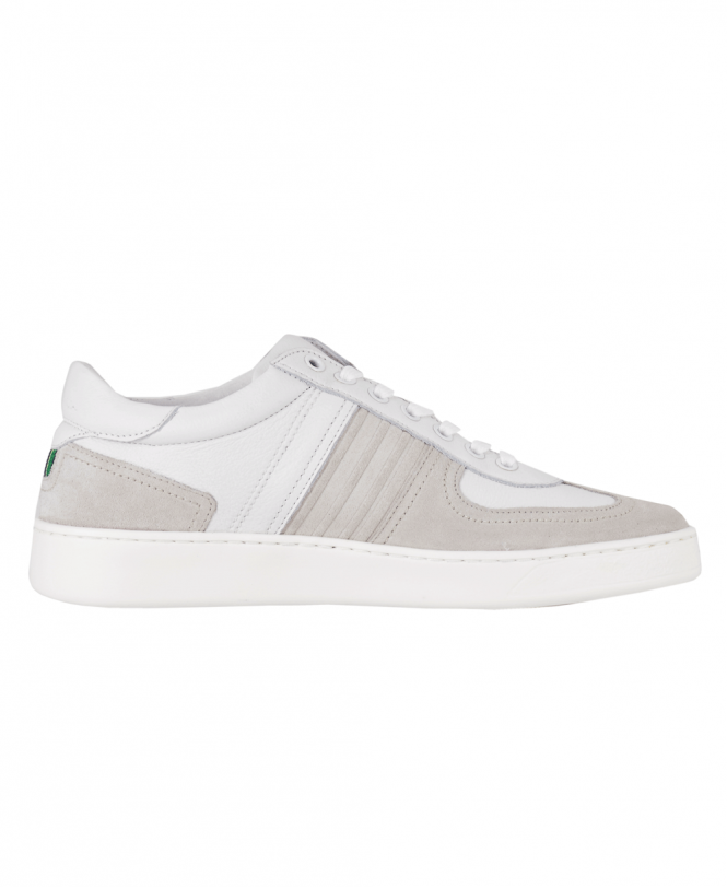 White Leather 'Reemo' Trainers - Shoes