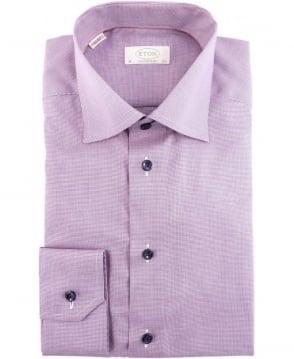 Eton Shirts Purple 360200337 Contemporary Fit Shirt