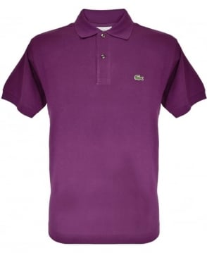 Lacoste Purple Classic Fit Polo Shirt