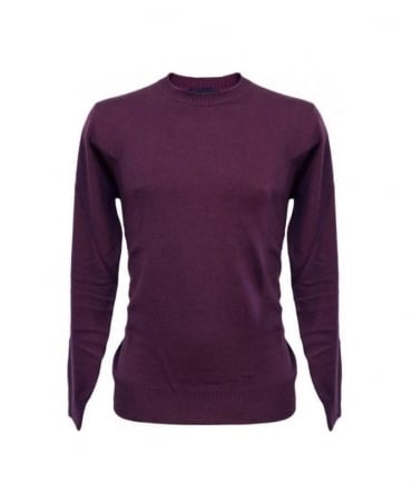 Paul Smith - Jeans Purple Crew Neck Knitwear