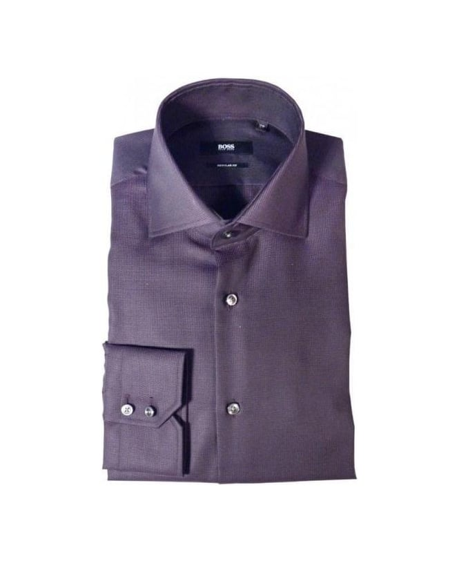 Hugo Boss Purple Gerald Regular Fit Shirt