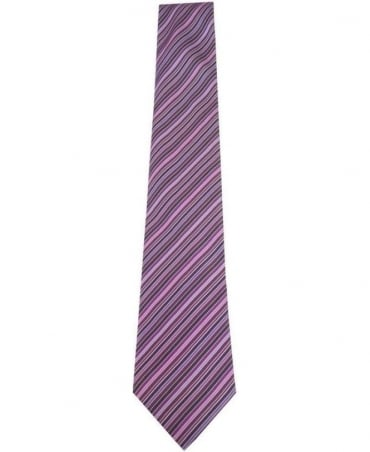 Paul Smith - Accessories Purple Stripe Men Tie AKXA/552M/V29