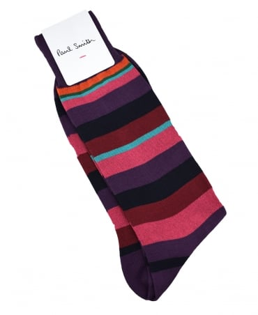Purple Stripe Valentine ATXC/800E/K539 Socks