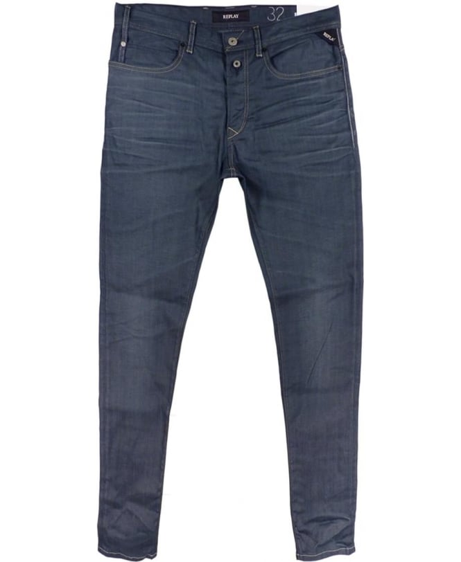 Replay RBJ.901 Limited Edition Jeans In Dark Blue