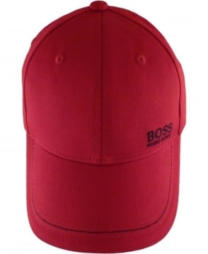 Hugo Boss Red 50245070 Navy Logo Cap