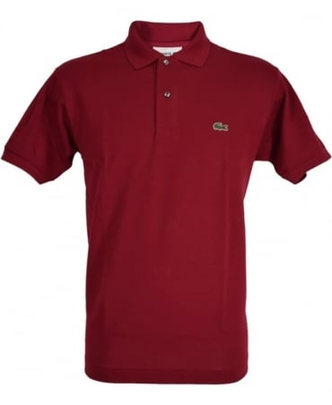 Lacoste Red Classic Fit Polo Shirt