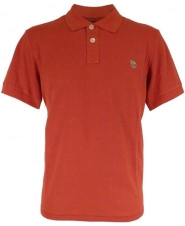 Paul Smith - Jeans Red  JNPJ/183K/A46Z Zebra Logo Polo