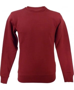 Paul Smith  Red JPPJ-597P-C51 Crew Neck Sweatshirt
