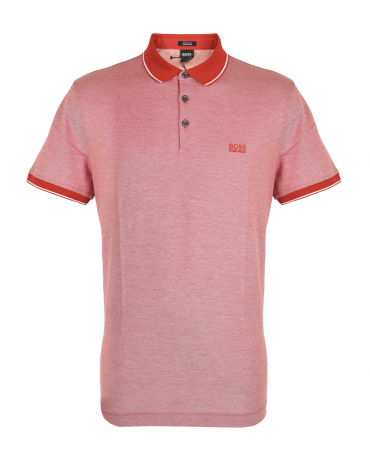 Red Prout Contrasting Polo Shirt