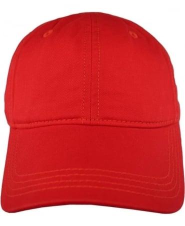Lacoste Red RK9811 Cap