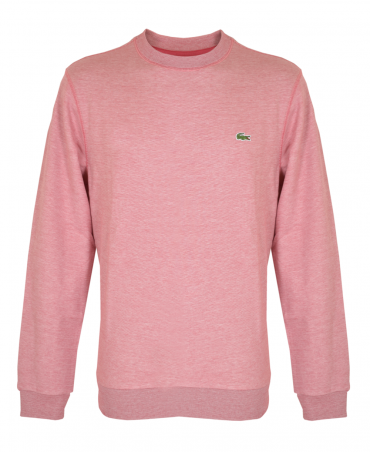 Red SH3296 Striped Brushed Fleece Sweatshirt