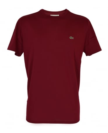 Lacoste Red Short Sleeve T-Shirt