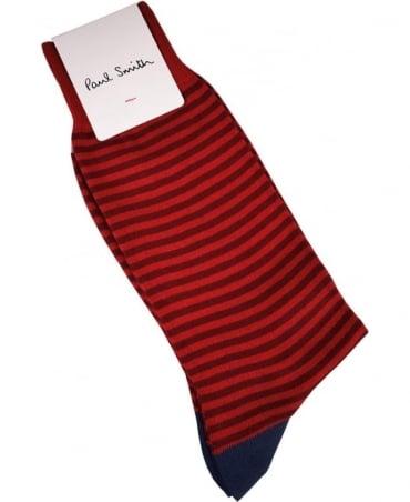 Paul Smith  Red Stripe ASXC/800E/K405 Socks