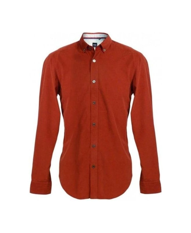 Hugo Boss Red Sven 50254062 Cord Shirt