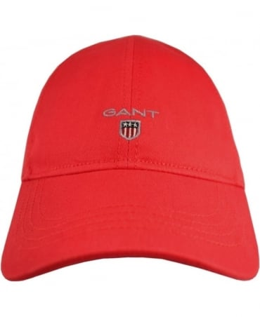 Gant Red Twill 90000 Adjustable Cotton Cap