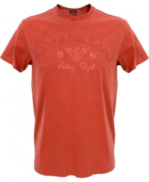 Armani Jeans Red V6H32JR T-Shirt