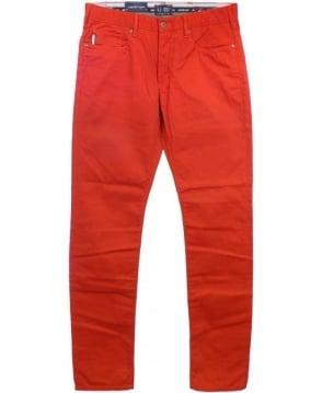 Armani Red V6J83 J06 Jeans