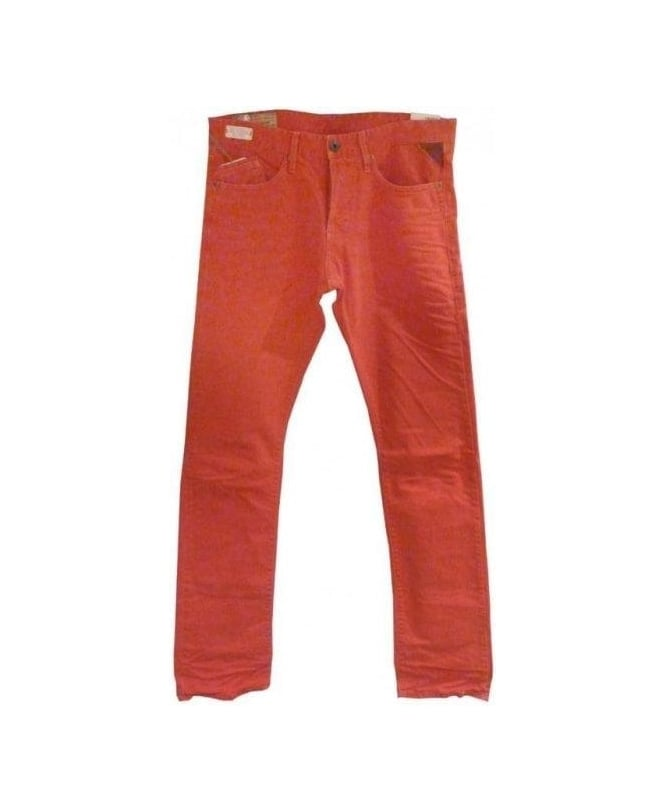 Replay Red Waitom Slim Jeans