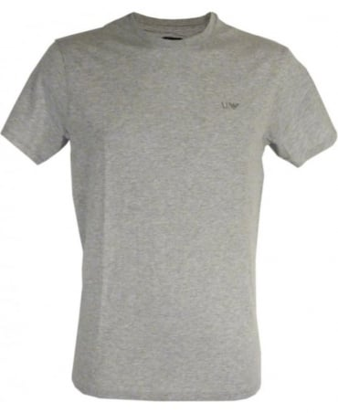Armani Regular-fit T-shirt In Marl Grey