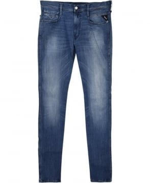 Replay Blue Wash Denim Anbass Jeans