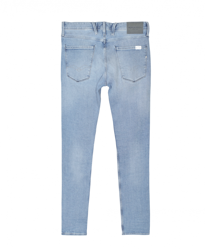 Replay Anbass Light Stonewash Blue Denim Jeans M914 101 263 011