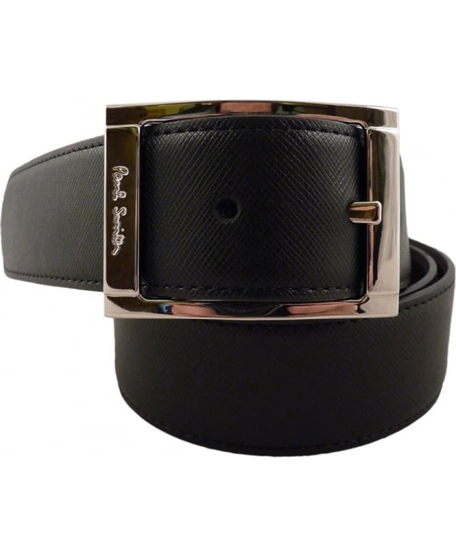 Paul Smith Reversible Black And Brown APXA-4437-B520A 35mm Width
