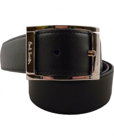 Paul Smith - Accessories Reversible Black And Brown  APXA-4437-B520A 35mm Width