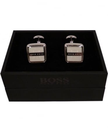 Robert Cuff-links In White