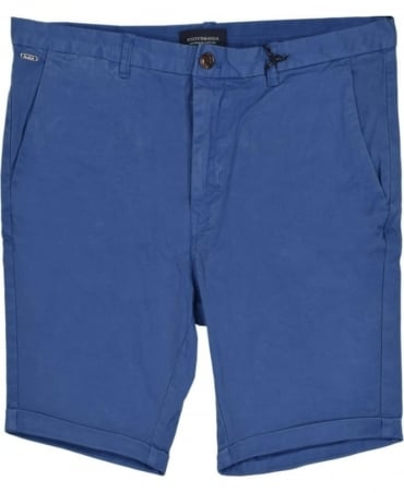 Scotch & Soda Royal Blue 13632 Chino Shorts