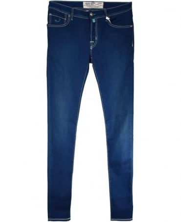 Royal Blue J622 COMF Fit Hand Made Jeans
