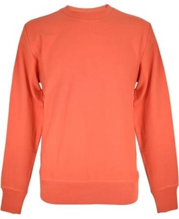 PS By Paul Smith Salmon Crew Neck Sweatshirt
