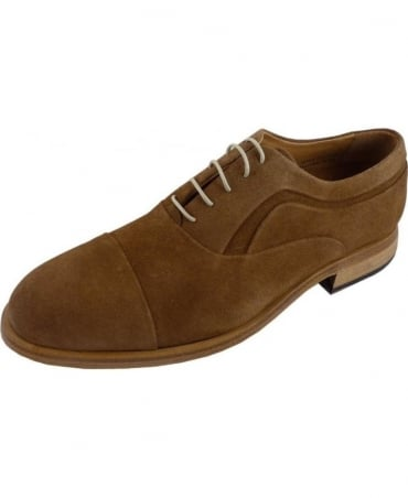 Salviati Snuff Suede Oxford Shoe
