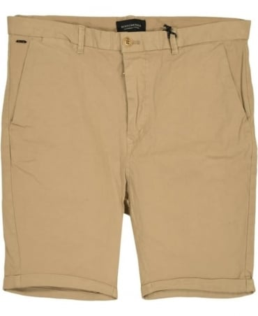 Scotch & Soda Sand 13632 Medium Length Chino Shorts