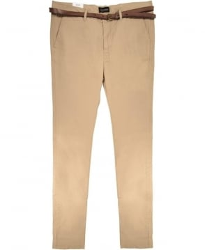 Scotch & Soda Sand Stuart Slim Fit Classic Chino