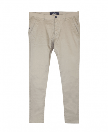 Sand Twill Stretch Trousers