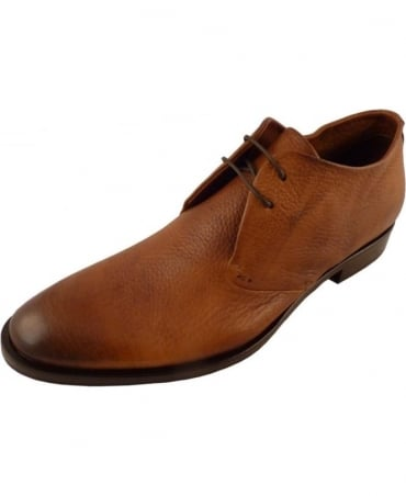 Oliver Sweeney Sarnano Tan Lace Up Derby Shoe